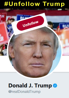 Unfollow Trump